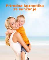 prirodna organska kozmetika za sunčanje - prirodna mineralna zaštita od sunca